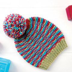 Cute Bobble Baby Hat Knitting Pattern