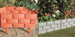 Brick Effect Garden Border