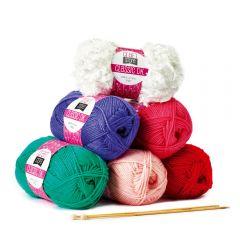 Pom-Pom Wreath Yarn Kit
