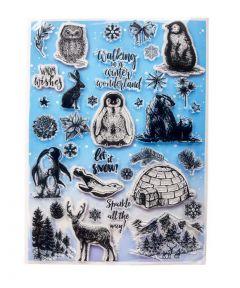 Winter Woodland Stamp Set