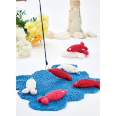 Children's Fishing Game Knitting Pattern