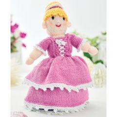 Cinderella Two-in-one Doll Knitting Pattern