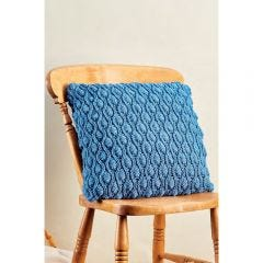 Learn to Knit A Cocoon Stitch Cushion Knitting Pattern