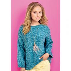 Comfy Sweater Knitting Pattern