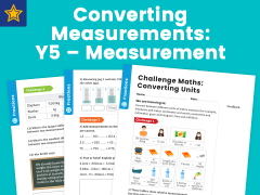 Converting Measurements: Y5 – Measurement – Maths Challenge