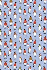 Cosy Penguins Cotton Tea Towel