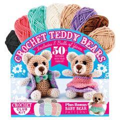 Crochet Teddy Bears Yarn Kit
