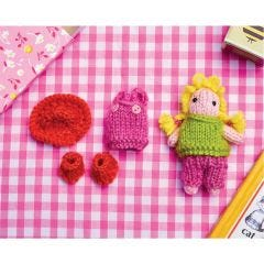 Doll and Outfits Knitting Pattern