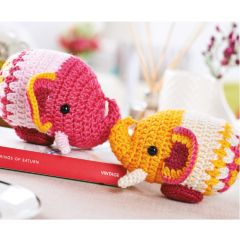 Easy Elephants Crochet Pattern