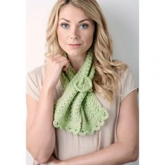 Easy Two-ball Lace Scarf Knitting Pattern