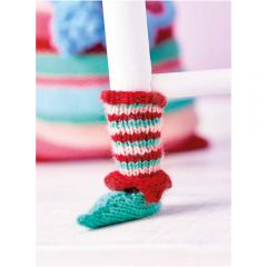 Elf Chair Socks Knitting Pattern