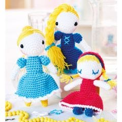 Fairytale Trio Crochet Pattern
