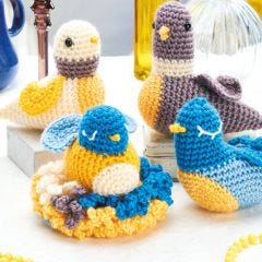 Family of Birds Crochet Pattern
