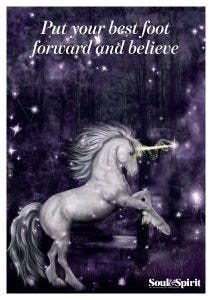 Foot Forward Poster