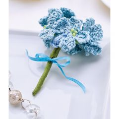 Forget-me-nots Knitted Bouquet Knitting Pattern