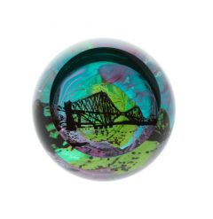 Caithness Glass Landmarks - Forth Rail Bridge Paperweight