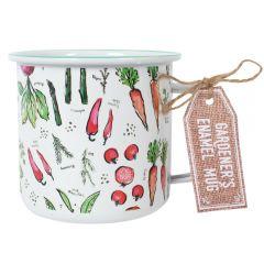 Gardener's Enamel Mug