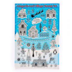 Gingerbread Village Stamp Set