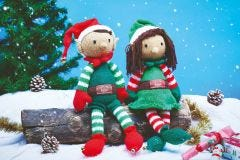 Jolly & Holly The Elves Knit Kit