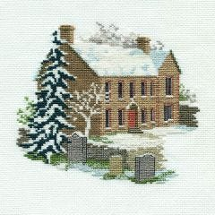 Bronte Parsonage Counted Cross Stitch Kit