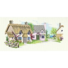 Summer Lane Counted Cross Stitch Kit