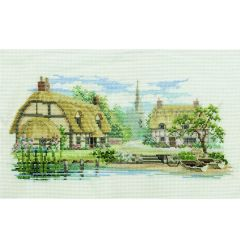 Waterside Lane Counted Cross Stitch