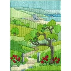 Summer Walk Long Stitch Picture Kit