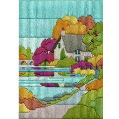 Autumn Walk Long Stitch Picture Kit