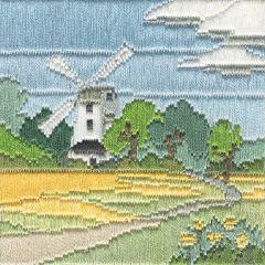 Windmill Silken Long Stitch Kit