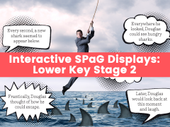 Interactive SPaG Displays: Lower Key Stage 2 – Commas after Adverbials – Possessive Apostrophes – Direct Speech