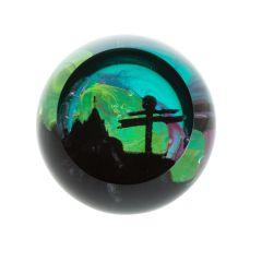 Caithness Glass Landmarks - John O'Groats Paperweight