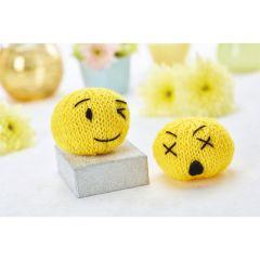 Knitted Emojis Knitting Pattern