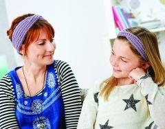 Knitted Turban Headband Set Knitting Pattern