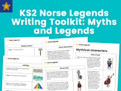 KS2 Norse Legends Writing Toolkit: Myths and Legends