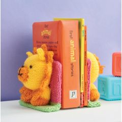 Lion Bookends Knitting Pattern