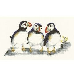 Valerie Pfeiffer: Fish Tonight Counted Cross Stitch Kit