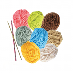 Teddy Bear Yarn Kit