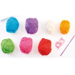 120g Bold and Bright Yarn Kit