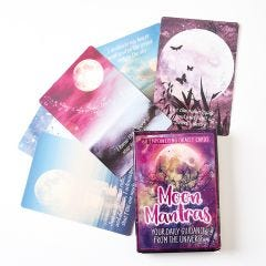 Moon Mantras Physical Card Deck