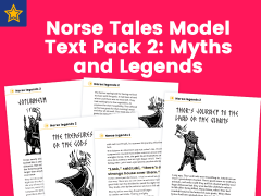 Norse Tales Model Text Pack 2: Myths and Legends