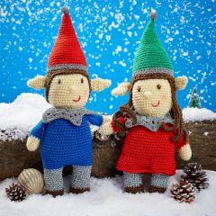 Nutmeg & Noel Elf Crochet Pattern