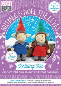 Nutmeg & Noel Physical Crochet Pattern