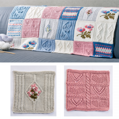 Debbie Bliss Primavera Blanket Pattern Part 2