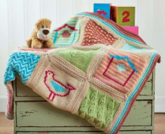 Little Birds Blanket Pattern Part 3