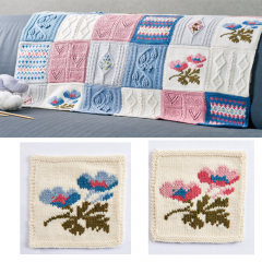 Debbie Bliss Primavera Blanket Pattern Part 4