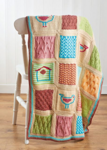 Little Birds Blanket Pattern Part 5