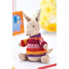 Perry the Aardvark Toy Knitting Pattern