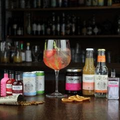 Pink Gin and Tonic Gift Box