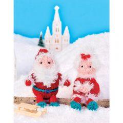 Mr & Mrs Claus Knitting Pattern