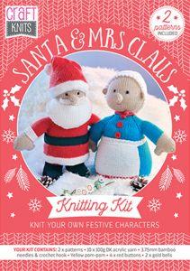 Santa & Mrs Claus Physical Knitting Pattern